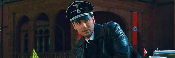 Aidan Turner over The Man Who Killed Big Hitler and Then the Bigfoot