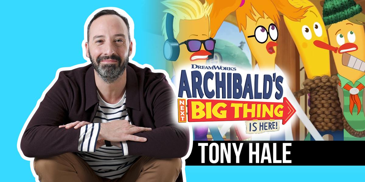 Tony Hale über 'Archibald's Next Big Thing Is Here' und welcher Muppet ihn zu 'Veep' inspiriert hat