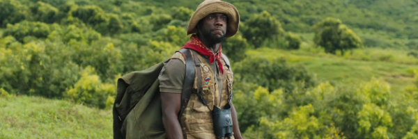 'Jumanji: Welcome to the Jungle': Kevin Hart em Playing a Powerless Bully