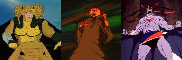 Os 11 melhores vilões de desenhos animados dos anos 80, classificados