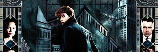 Nieuwe poster 'Fantastic Beasts and Where to Find Them 'bezoekt Duits expressionistisch Amerika